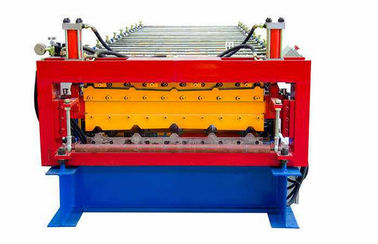 China 5.5KW Double Layer Tile Forming Machine Roof Tile Roll Forming Machine supplier