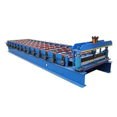 China 1050 Coated Steel Sheet Making Machine Wall Panel And Roof Forming Machine supplier