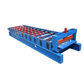 China ISO9001 Wall Panel And Roof Forming Machine Sheet Metal Hydraulic Plate Roll Former supplier