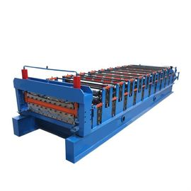 China Stepped Sheet Roofing Tile Forming Machine Ibr Roof Panel Forming Machine supplier