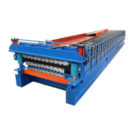 China 3kw Power Motor Metal Corrugated Roofing Sheet Roll Forming Machine supplier