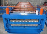 China Metal Roofing Sheet Double Layer Roll Forming Machine With CE / SGS Certificates factory