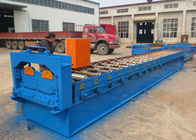 China Intelligent Cold Roll Forming Machines With 0.6 Inch Chain Link Bearing Drive factory