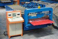 China 3KW 380V Trapezoidal Sheet Roll Forming Machine For Steel Wall Panel Making factory