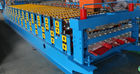 China 3kw Colored Steel Corrugated Forming Machine With  5 Ton Loading Capacity factory
