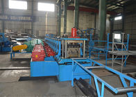 China 380V Highway Guardrail Roll Forming Machine / Roll Former Machine With Decoiler factory