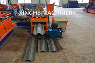 China Smart Highway Guardrail Roll Forming Machine For 2 Wave Galvanized Guardrail factory