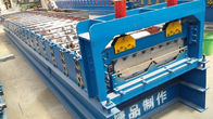China CE Blue Color Cold Roll Forming Machines WITH 3 - 6m / Min Processing Speed factory