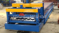 China Updated Tech Automatic High speed Glazed Steel Roof Tile Roll Forming Machine 828 factory