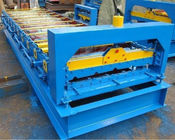 China Iron Roof Panel Roll Forming Machine 380v 3 Phrases 50hz Frequency factory