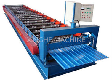 910mm IBR Standard Wall Panel Roll Forming Machine , Cold Roll Forming Machine