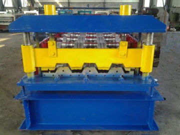 Automatic High Speed Sheet Metal Roll Forming Machine For Making Floor Decks