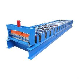 380V Coated Steel Roofing Rolling Machine 3 Phase With 4.0kw Power