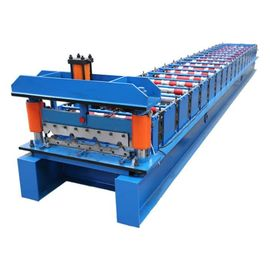 Galvanized Construction Materials Roof Panel Forming Machine CE ISO9001 Listed