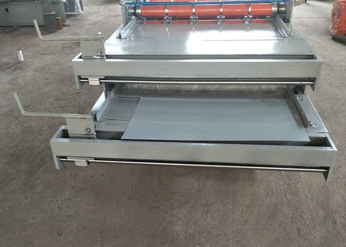 4Ton Double Layer Roll Forming Machine With Carbon Steel 45 Rolling Material