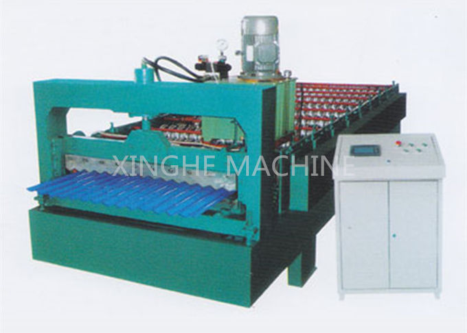 Smart Cold Roll Forming Machines / Sheet Metal Forming Equipment With 3kw Motor