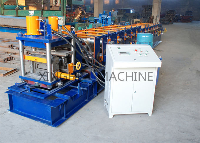 Automatic Quick Interchangeable Cold Roll Forming Machines For C Type Purlin