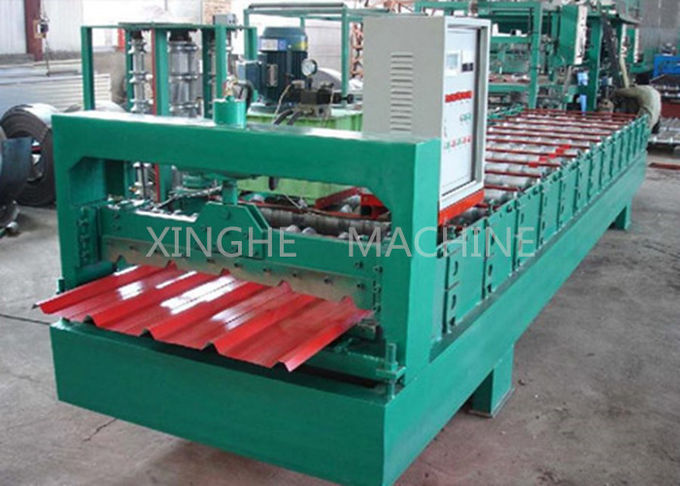 High Capacity Cold Roll Forming Machines With Coiler Sheet Guiding Device