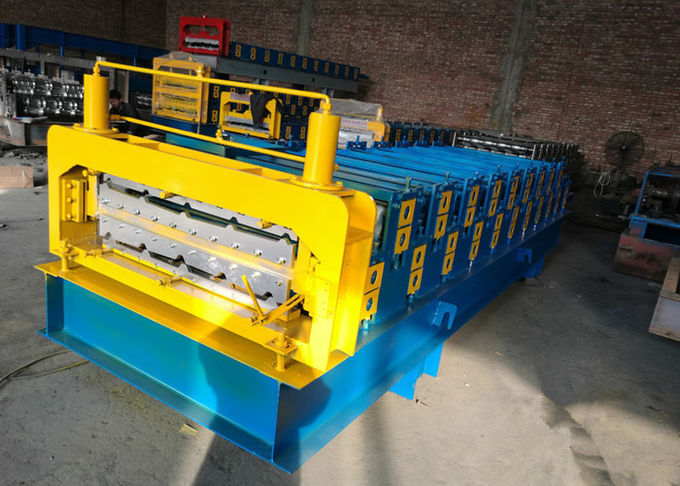 European Style Industrial Roofing Sheet Making Machine With PLC Control System