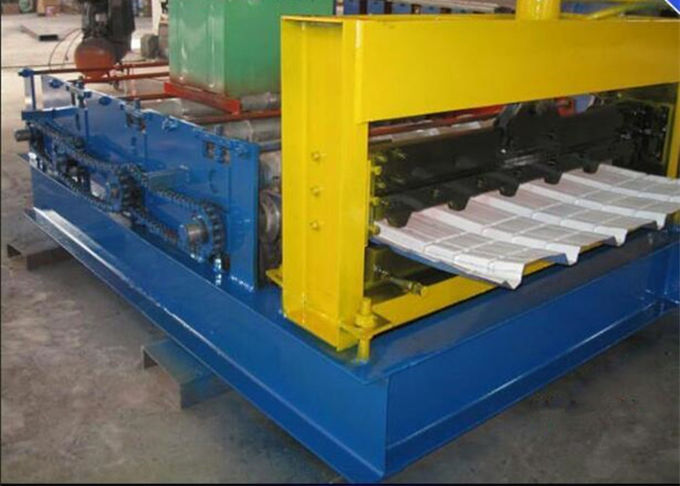 Full Automatic Roll Forming Production Line PPGI Sheet Metal Bending Tools