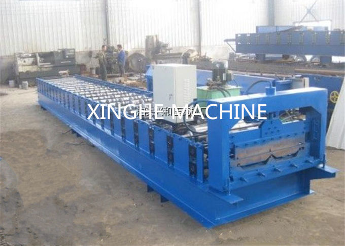 Full Automatic Roll Forming Machines Making PPGI Tiles For House Building
