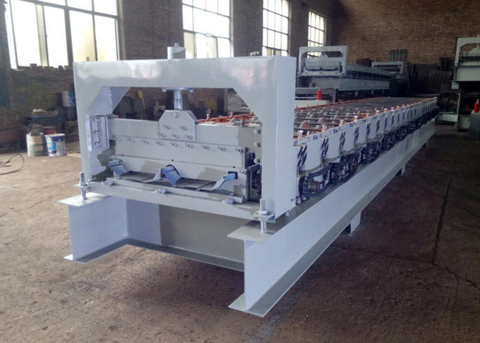 CE Blue Color Cold Roll Forming Machines WITH 3 - 6m / Min Processing Speed