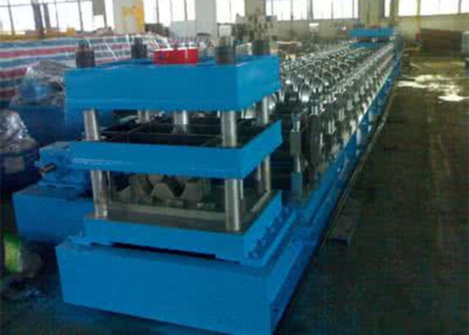 PPGI Highway Guardrail Roll Forming Machine For Making 310mm Corrugated Sheet