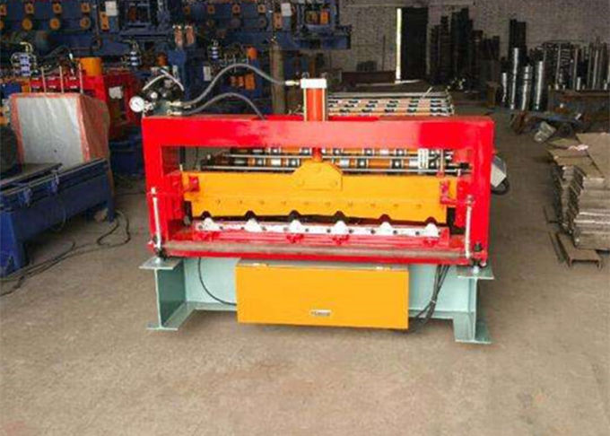 Automatic Rollformer Corrugated Steel Sheet Roof Panel Roll Forming Machine